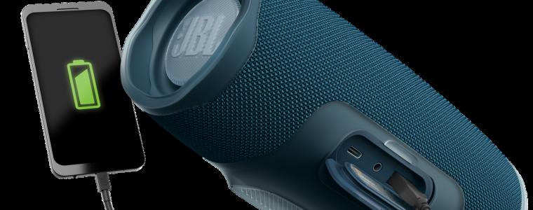 JBL anuncia nova Charge 4 com bateria potente de até 20 horas