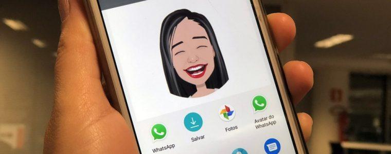Como criar figurinhas para WhatsApp com a sua cara com o app Mirror