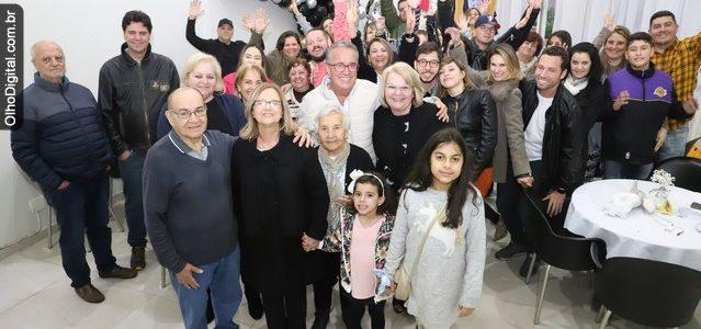 28/09/2019, Aniversário Sr. Gomes, 80 anos