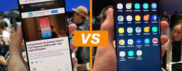O que muda no Galaxy Note 9: conheça diferenças em relação ao Galaxy Note 8