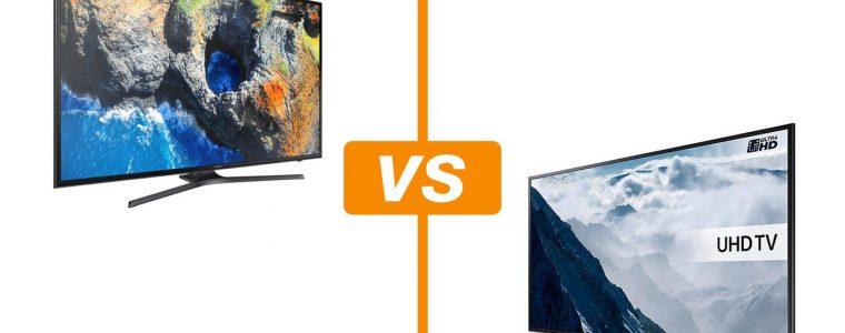 Samsung MU6100 vs KU6000: veja diferenças e semelhanças entre smart TVs