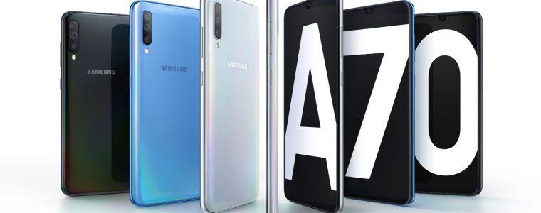 Samsung anuncia Galaxy A70; celular tem câmera de 32 megapixels